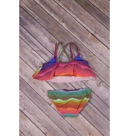 Planet Sea Rainbow Two Piece Swimsuit