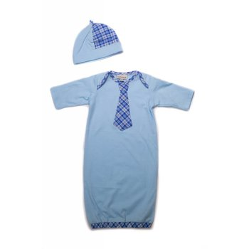 CachCach Blue Plaid Tie Take Me Home