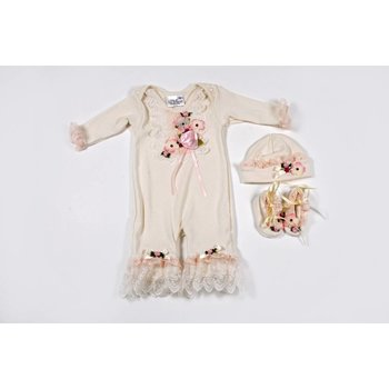 Kitty Girls Tulle & Dye Co Natural Jumper Take Home Set