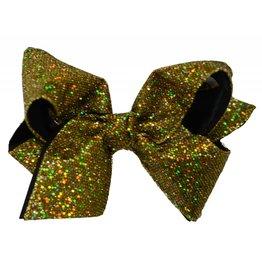 Reflectionz Metallic Disco Ribbon Hair Bow