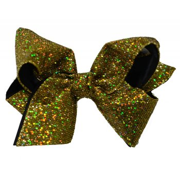 Reflectionz Metallic Disco Ribbon Hair Bow