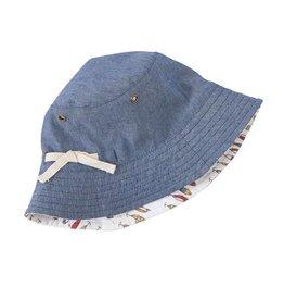 Mud Pie Fish Reversible Sun Hat