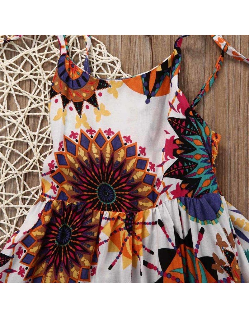 Mandala Sun Burst Dress