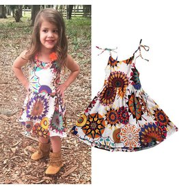 Mandala Sun Burst Dress