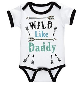 "Ganz ""Wild Like Daddy"" Onesie"