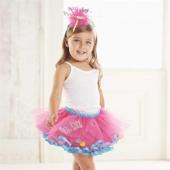 Mud Pie Birthday Princess Tutu Set