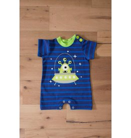 Wally & Willie UFO Alien Romper