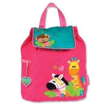 Stephen Joseph Girl Zoo Backpack