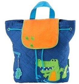 Stephen Joseph Boy Alligator Backpack