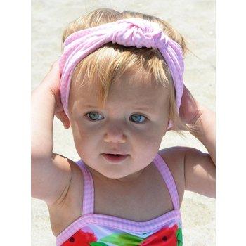 Frou Frou & Company Pink Gingham Headband