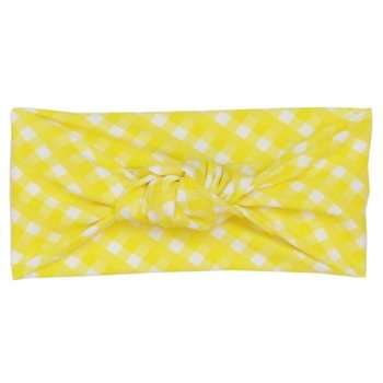 Frou Frou & Company Yellow Gingham Headband