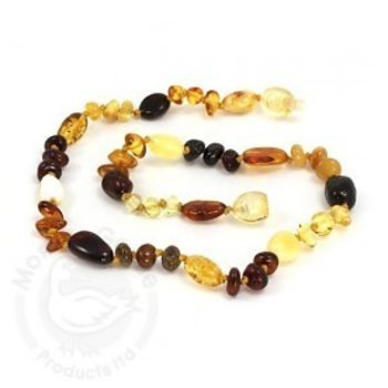 Momma Goose Amber Goose Teething Necklace