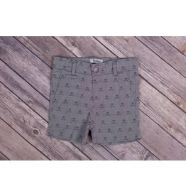 Frenchie Skulls And Crossbones Shorts