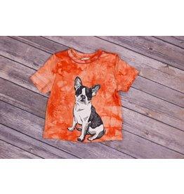 Frenchie Orange Puppy Dog T Shirt