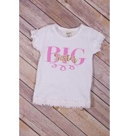 Jujubee Bowtique Big Sister Tee Shirt
