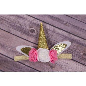 My Little Lady Bug Unicorn Headband