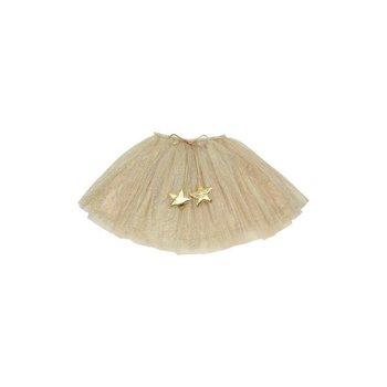 Popatu Ivory and Gold Star Tutu