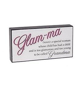 Ganz Glam-ma Sign