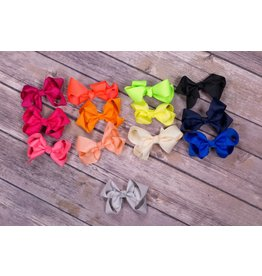 2in Mini Solid Bow- Buy 2 get 1 free!
