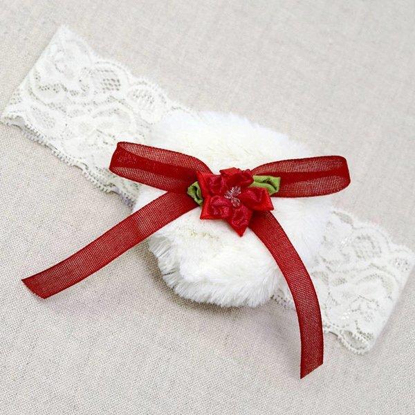 Merry and Bright Fur Headband