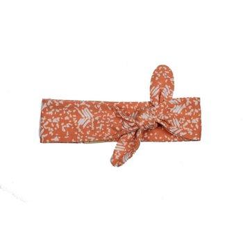 Cotton Crowns Cotton Crown Turban Burnt Orange