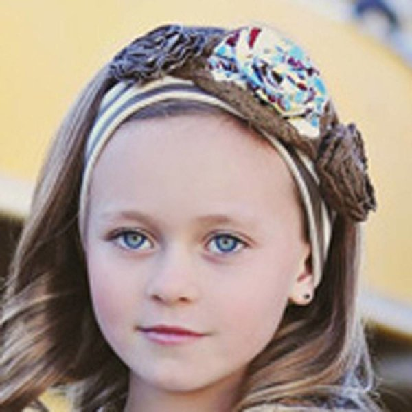 Mustard Pie Olivia Floral Headband