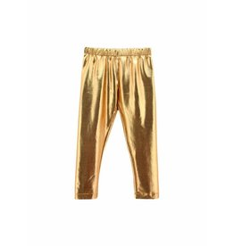 Mallory May Metallic Gold Legging