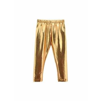 Mallory May Metallic Gold Legging
