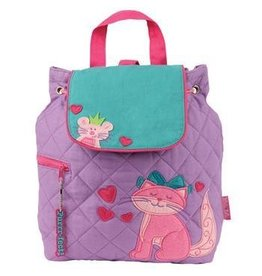 Joseph Stephen Quilted Cat Backpack
