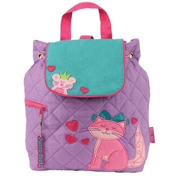 Stephen Joseph Quilted Cat Backpack