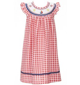 Bonnie Jean American Smocked Gingham Dress