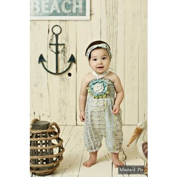 Mustard Pie Seaside Summer Fiona Romper