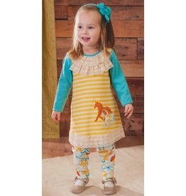 Molly & Millie Long Sleeve Equestrian Tunic and Legging