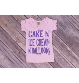 Royal & Rose Cake/Ice cream Birthday Shirt