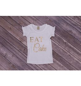 Royal & Rose Eat Cake Birthday Shirt