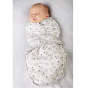 Mud Pie Sheep Snappy Swaddle