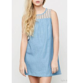 Hayden Chambray Tank Dress