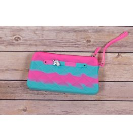 American Jewel Gummy Glow in Dark Wristlets Wallets