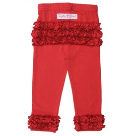 Ruffle Butts Red Everyday Ruffle Leggings