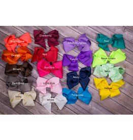 8 inch Solid Bow- Buy 2 get 1 free!