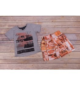 Quimby Beach Boys T-Shirt And Short Set