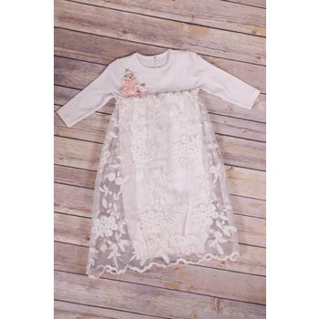 Truffle Kids Inc. Emily Lace Gown Ivory