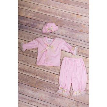Kitty Girls Tulle & Dye Co Patti Pink 2 Piece Set