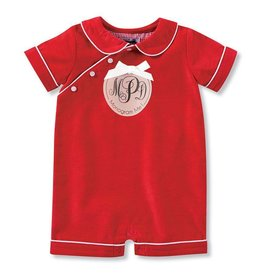 Mud Pie Red Corduroy Bubble
