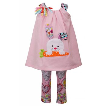 Bonnie Baby Doodle the Bunny Tunic Set