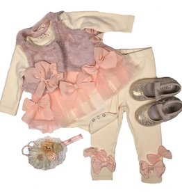 Mae Li Rose Baby Bow Legging
