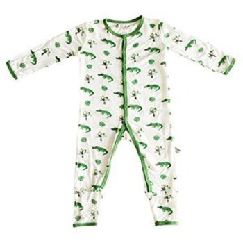 KYTE Rainforest Footless Romper