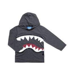 Kapital K Gray Alien Rawr Hooded Shirt