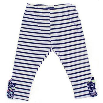 Blanc De Blanc Navy Striped Legging
