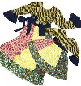 Millie Jay Medallion Panel Dress
